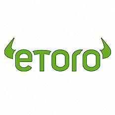 Recenzia brokerskej spoločnosti eToro Logo
